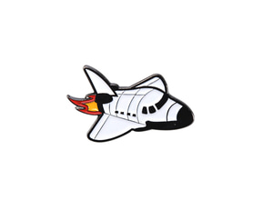SPACE SHIP-BADGE